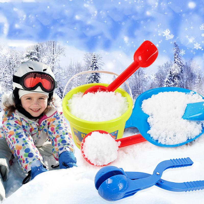 Toys & Hobbies Math Toys Beautiful Winter Snow Ball Fight Toy Funny Kids Children Outdoor Plastic Lightweight Snowball Maker Sports Game Toy Tool Green Red Blue