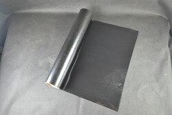 (0,5 x5M) schwarz 2,5 Quadratmeter von Hoher Qualität Wärme Transfer Vinyl Für Kleidung PU Vinyl Film für T shirts Eisen auf vinyl BK601