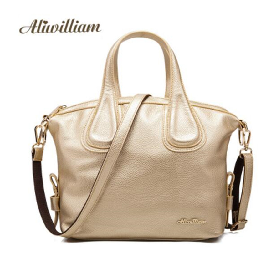 Aliwilliam Brand Ladies Leather Handbag 2017 Summer New Lady Leather Bag Leather Fashion Female Handbag Female Shoulder Bag ce emc lvd fcc ozone bath spa