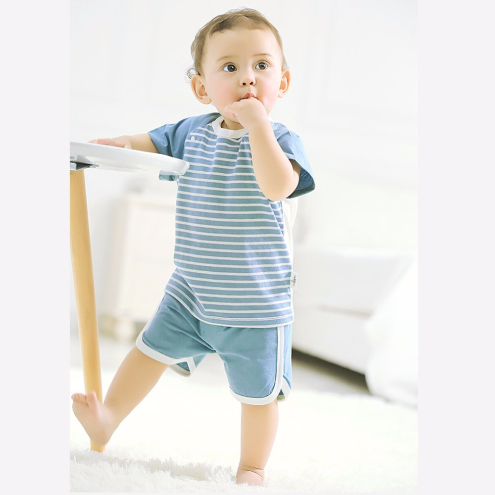 COBROO Baby-streepjes-tops met O-hals korte mouwen Unisex-baby - Babykleding - Foto 6
