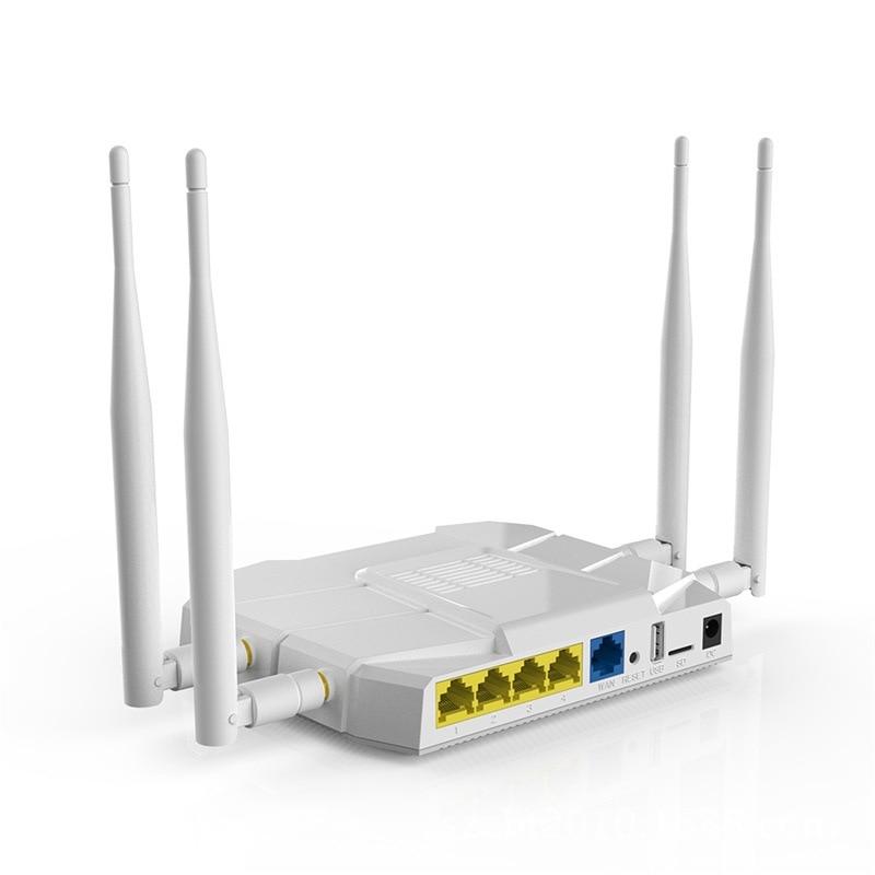 1200Mbps 4G LTE WiFi Router Gigabit SIM Slot 4G Wireless Router 10 ...