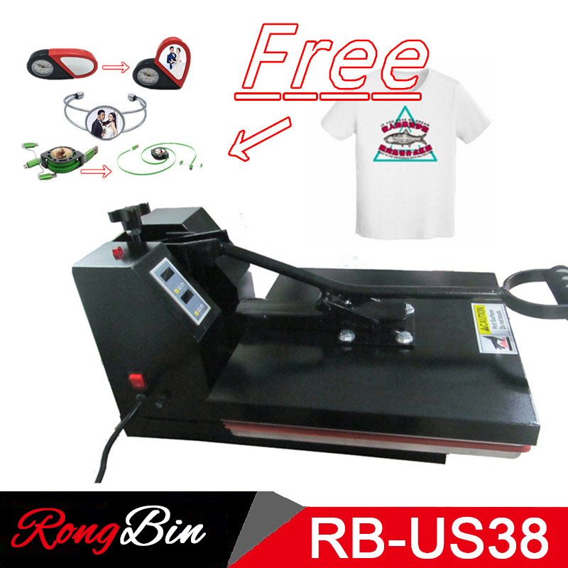 CE Certification High Pressure 15x15 Inch T-shirt Heat Press Machine Sublimation Heat Transfer Printer for Bag Case Puzzle Glass цены