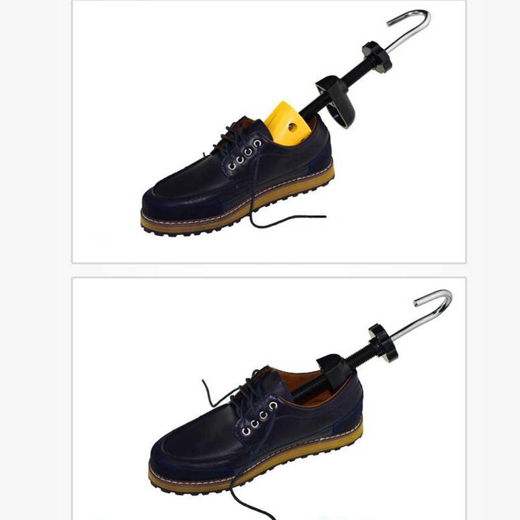 1 adet ayarlanabilir erkek bayan profesyonel 2 yollu ayakkabı sedye Shaper genişletici ev ayakkabı ağaç rafı