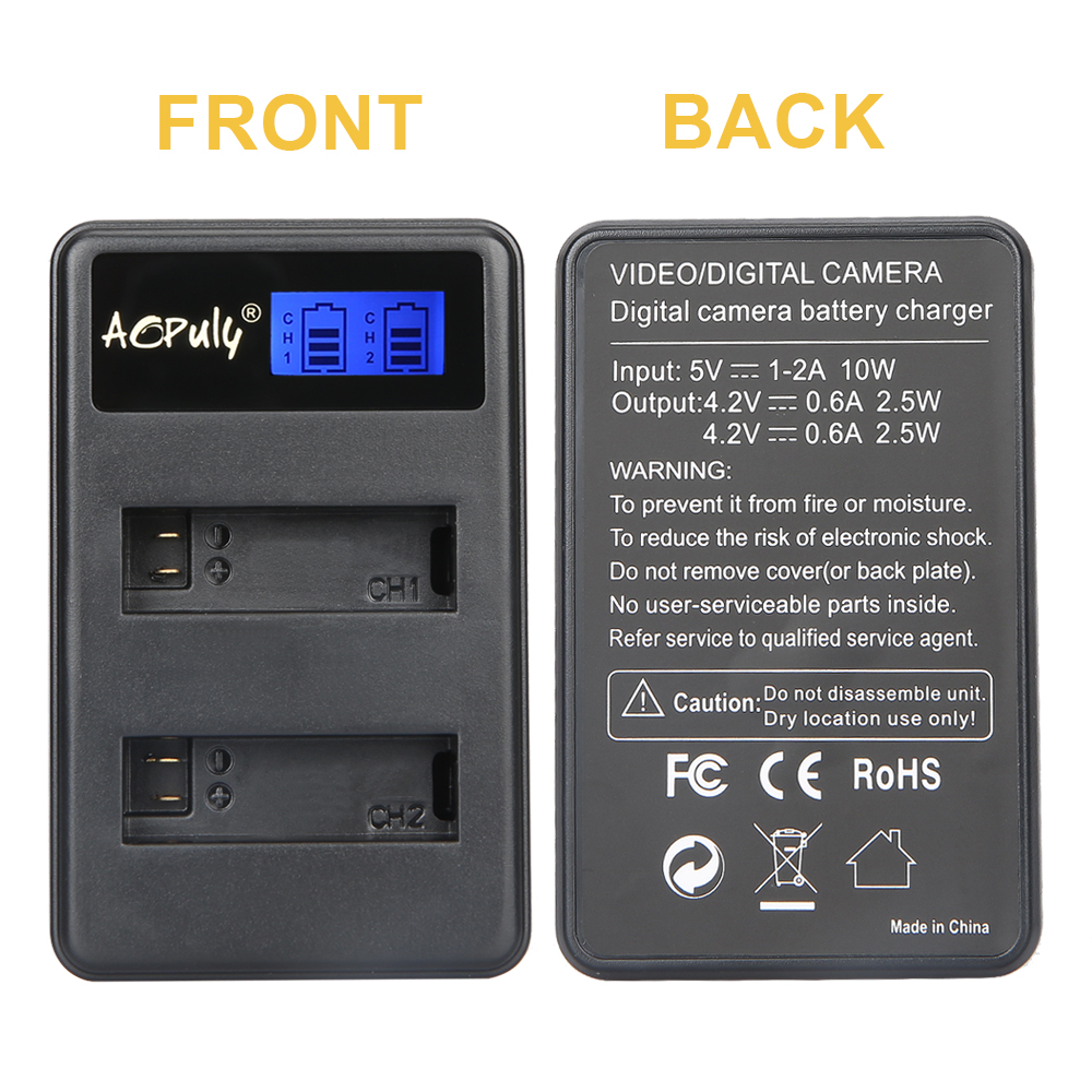 Baterias Digitais sj8000 câmera Marca : Aopuly