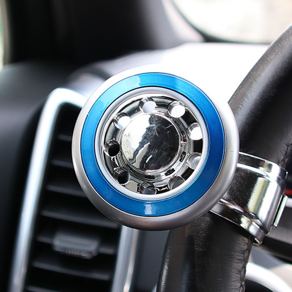 Atv,rv,boat & Other Vehicle Active 1* Auxiliary Booster Car Steering Wheel Spinner Knob Aid Control Handle Grip Use Automobiles & Motorcycles