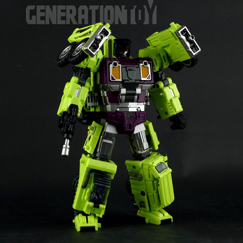 (IN STOCK in the early of Dec ) TOYS Generation Toy GT-01F Crane(Free GT-01H)