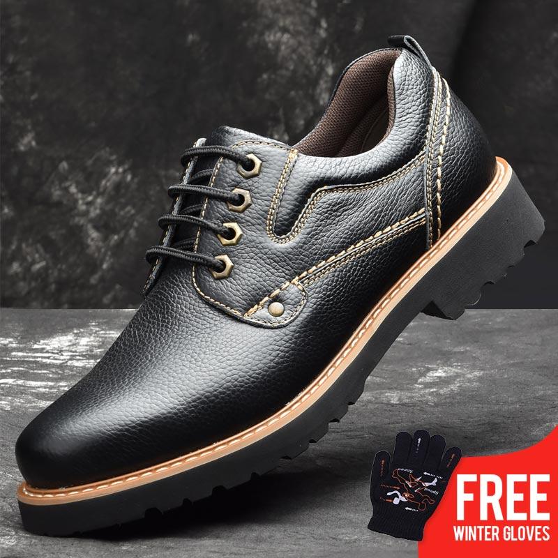OSCO PUBG Factory Direct ALL SEASON Men Shoes Fashion Men Cow Leahter  Casual Ankle 8cb4381401dd