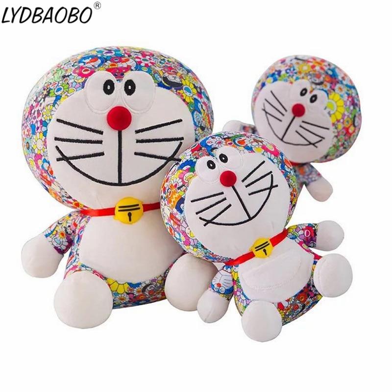 LYDBAOBO 1PC 25/35CM Hot Anime Doraemon Plush Toy Kawaii Cat Doll Doraemon Figure Toy Soft Stuffed Animals Pillow Baby Toy Kids