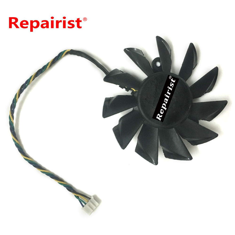 VGA Video Card Cooler Fan For MSI R7770 PMD1GD5 Graphics Card Computer Cooling free shipping 90mm fan 4 heatpipe vga cooler nvidia ati graphics card cooler cooling vga fan coolerboss