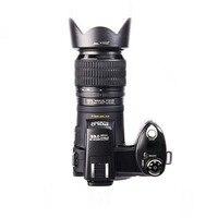 Protax поло D7100 цифровой Камера 33 млн пикселей автофокусом Профессиональный Настольный Штатив Камера 24X Оптический зум с три объектива