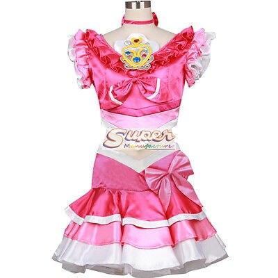 DJ DESIGN Suite PreCure Suite Pretty Cure Cure Melody Hibiki Hojo Uniform Cosplay Costume