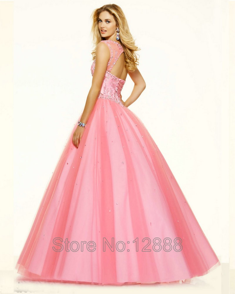 Cotton candy pink prom dresses - Best Dressed