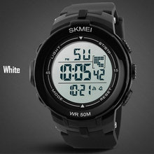 Newest Hot 5atm Waterproof Top Quality Fashion Design Sport Digital LED Girl Ladies Lady Electronic Casual Dress rubber Watches