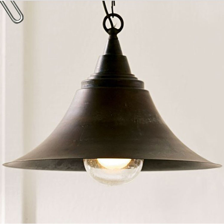 American style pendant light brief pendant light tieyi vintage restaurant lights table lamp ZZP GY59 pendant light living room lamps restaurant lamp american style copper brief pendant light