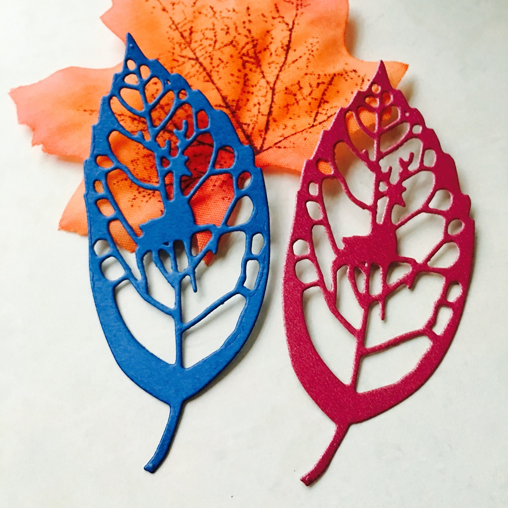 39*87mm Metal  cutting die scrapbooking Hollow leaves and Moose Embossed decoration is stansen Mallen Cards 2019 new cutting die