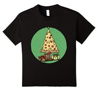 Printed T Shirt Short Sleeve Men T Shirts Pizza Christmas Tree Ugly Sweater Food Funny Tee