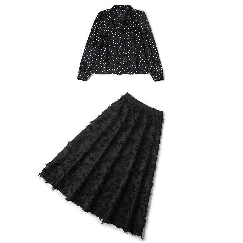 See Flottante Vague Virgule Plomb Nouveau Famille Plume Robe Laurence Chart Copie Costumes 2019 Rmojul Printemps Chemise Jupes SnzZwSq0Y