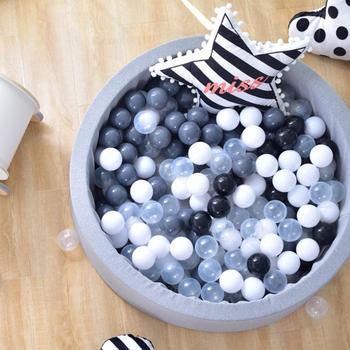 Детская сухая палатка для бассейна, ограждающие манеж, серый, розовый, синий, круглый шар, бассейн, яма, Манеж без мяча, игровые игрушки для де...
