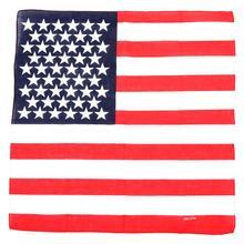 Крутая американская звезда американский флаг Дамская повязка для головы лента чалма-бандана шарф