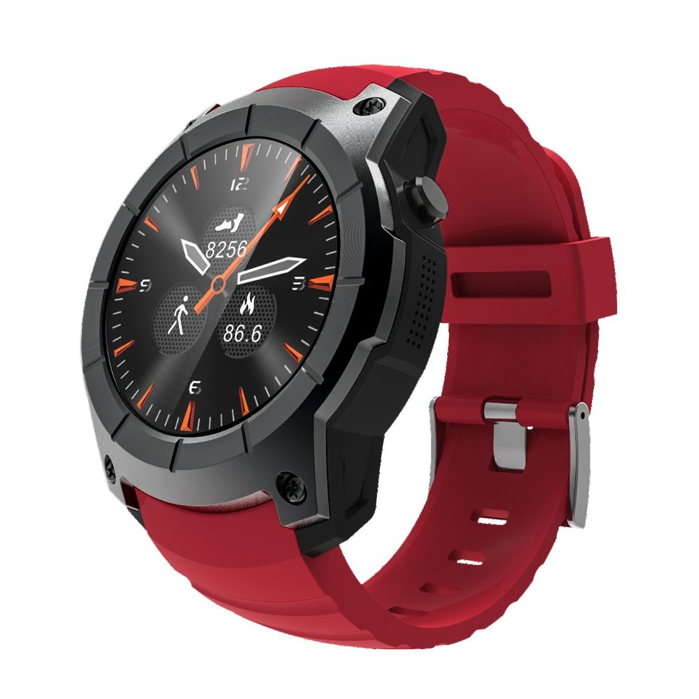 Waterproof Outdoor S958 Smart Watch For Android For IOS Smart Watch Heart Rate Monitor GPS 2G SIM Card Sports Wristwatch gps outdoor smart watch v18 supports tf card multi mode sports monitor bluetooth wristwatch clock smart phone for ios android