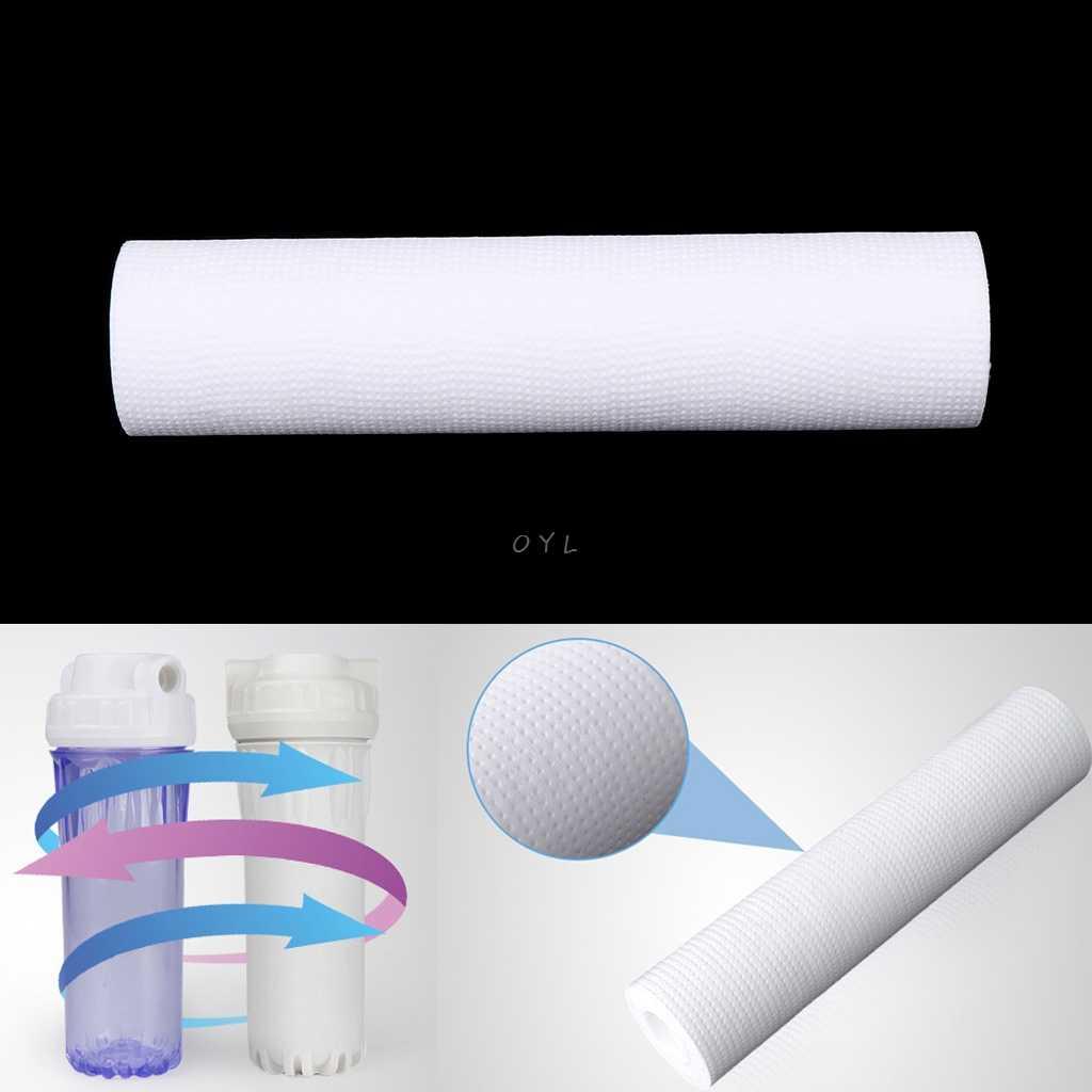 Kartrid Filter Air Reverse Osmosis Sedimen Cleaning Menghapus 5 Micron PP Pengganti