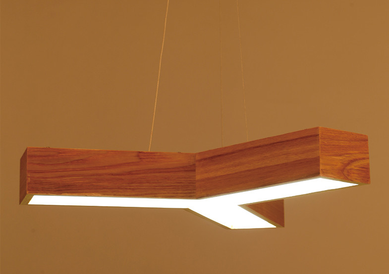 LED Wood Pendant Lamp Modern Japanese Nordic Minimalist Living Room Dining Restaurant Light Artistic Antique Wooden