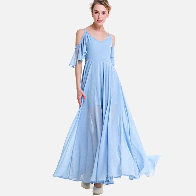 SheBlingBling Plus Size High Waist Chiffon Dress Fashion Open ... f4cd6be2ee10