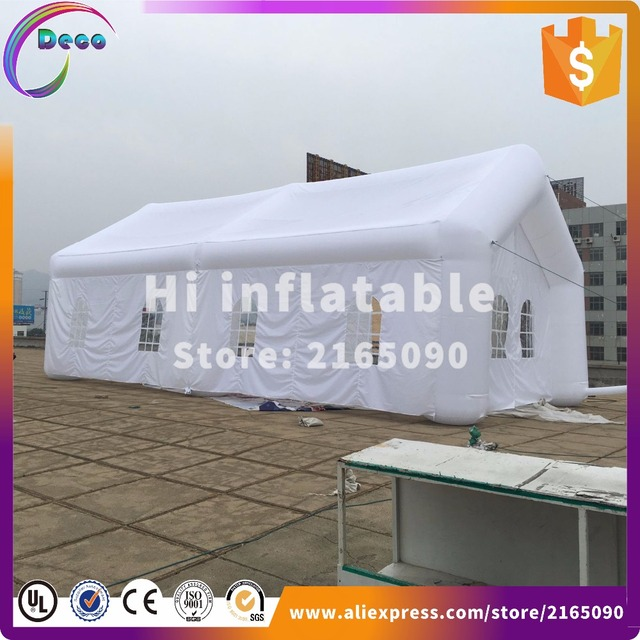 12m long and 6m wide inflatable house tent inflatable room ...