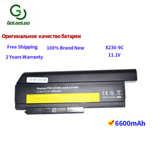 Golooloo 9 cells laptop battery for Lenovo ThinkPad X220 X220i X220s X230 X230i X230S 45N1025 45N1024 45N1028 45N1029 45N1020 11 1v 94wh 9cell x230 original new laptop battery for lenovo thinkpad x220i x220 x230i 0a36307 42t4940 0a36281 45n1022 45n1023