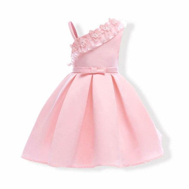 82aee7f78 2018 Niñas niños boda Vestidos niños noche bola formal bebé frocks ropa  para niña princesa vestido