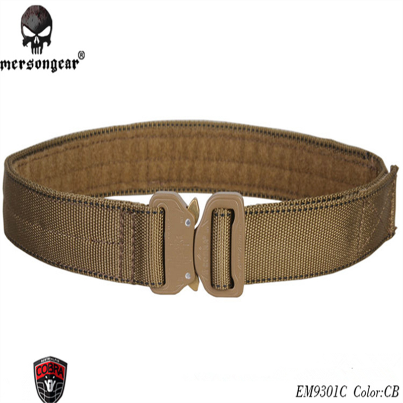 EmersonGear Cobra 1 5inch Belt Rigger Duty Army Tactical Belt Men Belt Black Gray Coyote ALL