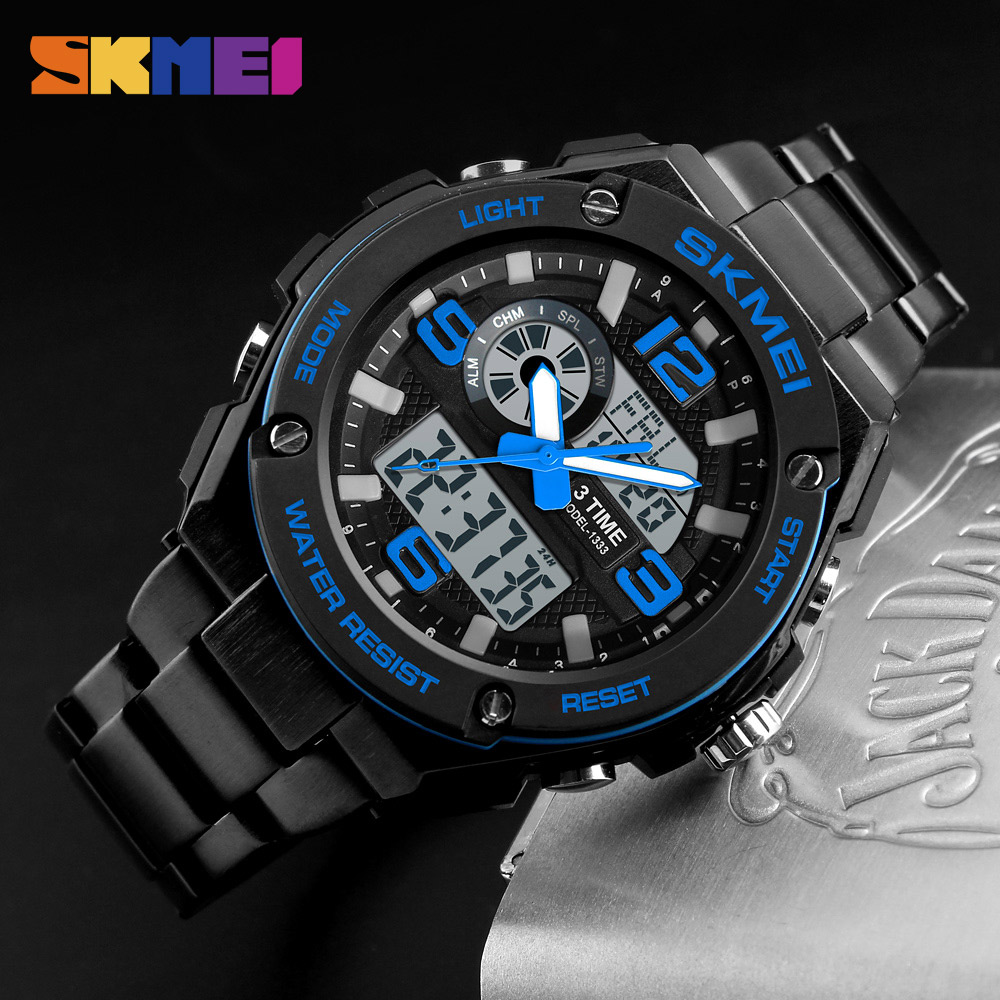 SKMEI Fashion Men Watches 3 Time Count Down Chronograph Waterproof Watch Alarm 12/24 Hour Clock Men Wristband Relogio Masculino леонид трумекальн зарисовки по ходу