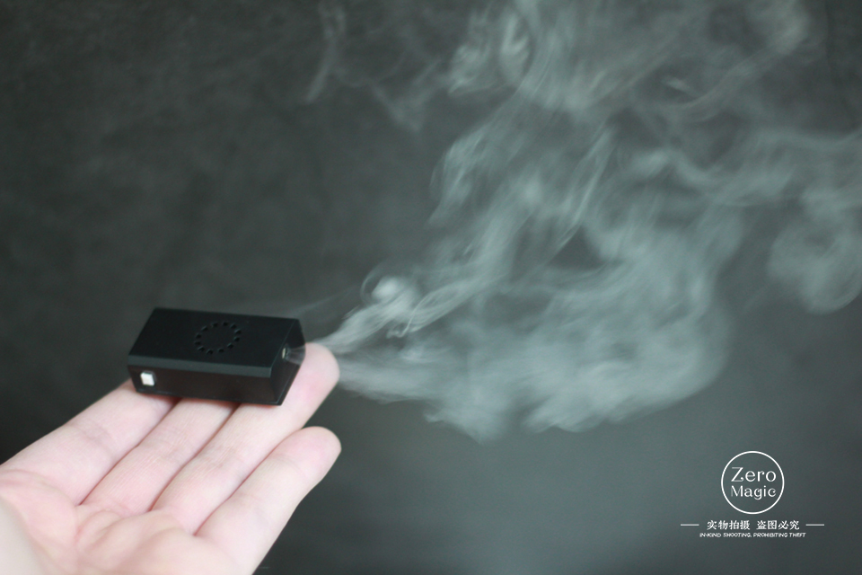 Nothing 2.0 Smoke Device,Mini Remote Control Smoke Device,Charge,amazing,gimmick+Online Teaching,magic Tricks,props