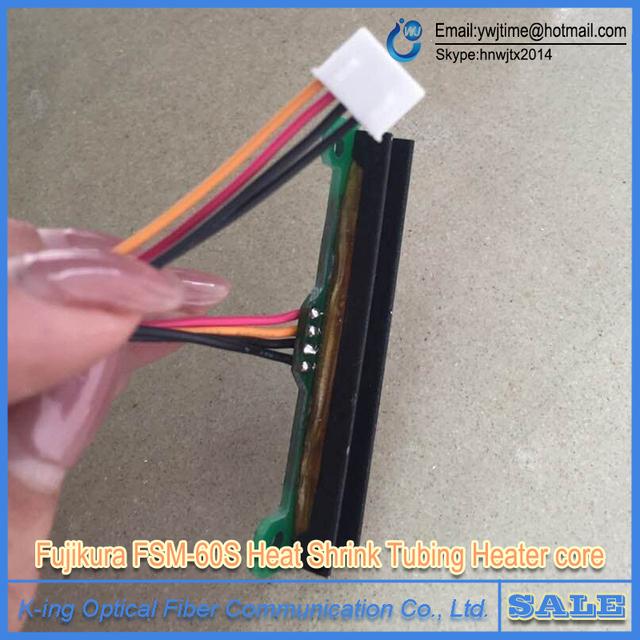 Fujikura FSM-60S FSM-60R FSM-18S FSM-18R Splicer Fusão de Fibra Óptica Tubulação Do Psiquiatra de Calor Aquecedor Central