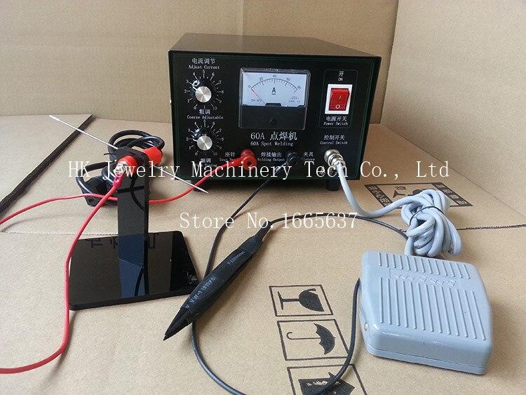 60A Electric Spot Welders Mini Spot Welders for Sale Jewelry Handheld Spot Welder