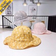 2019 1 to 5 years old new baby lovely joker children fisherman hat for outdoor sun infant kids bonnet XA 224