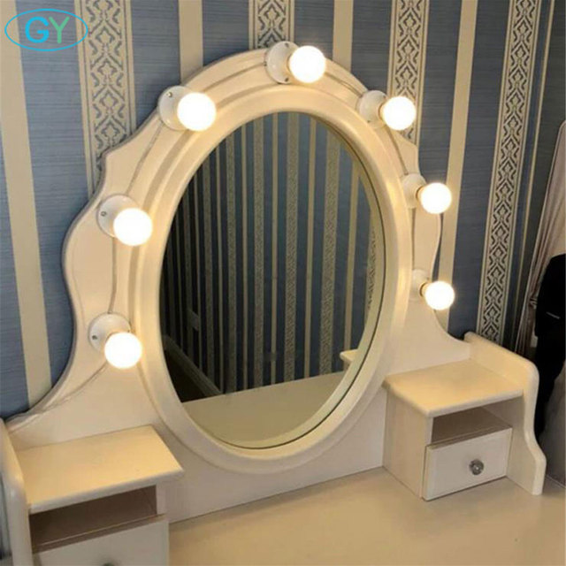 Dimmable Led Vanity Mirror Lights Kit For Makeup Dressing Table