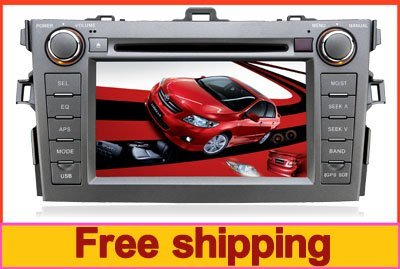 2din in dash Special Car DVD player for Toyota Corolla with GPS+TV