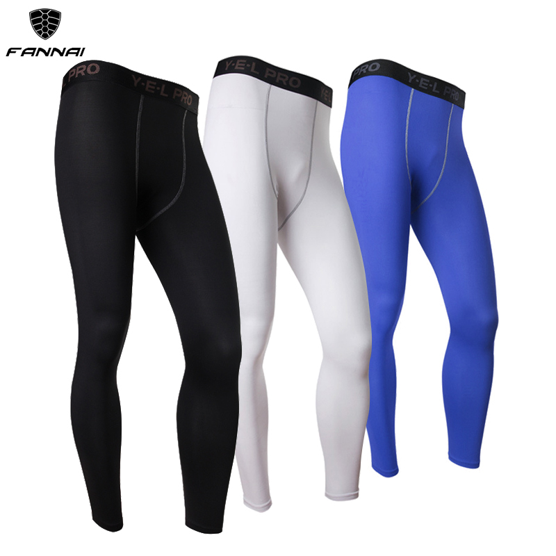 Mens Compression Pants Baselayer Cool Dry Sports Tights Leggings Athletic Train Fitness Gym Sports Running Pants