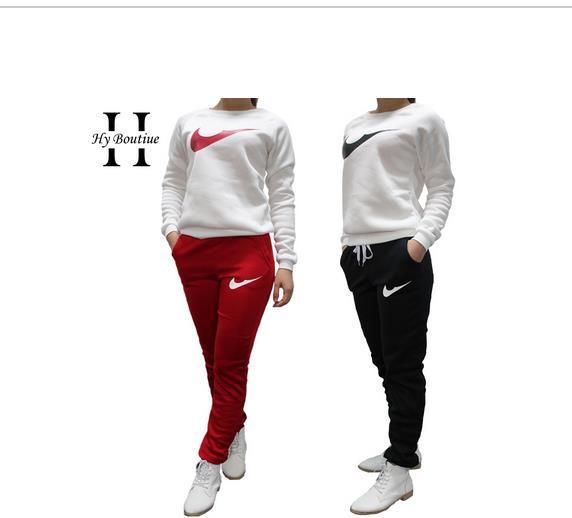 4a656832cf6cd 2016 marca moda mujer chándal Sport Suit con capucha mujeres sudadera +  pantalón chándal Femme Marque Survetement ropa deportiva 2 unid conjunto en  ...