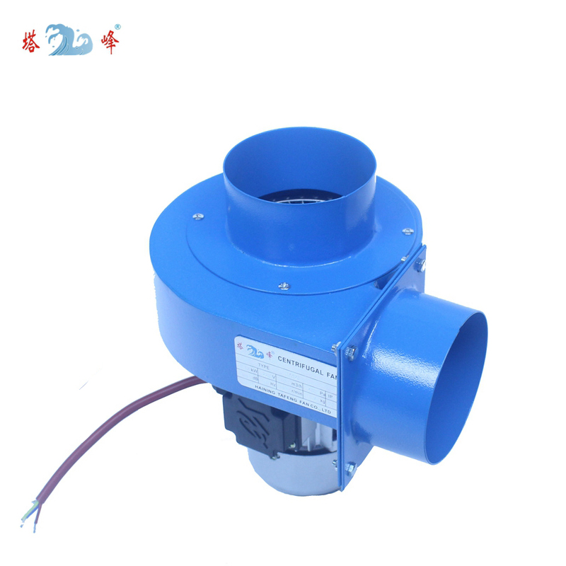 Tools : 120w small powerful hot smoke suck Multi wing centrifugal fan blower 220v super high temperature resistant