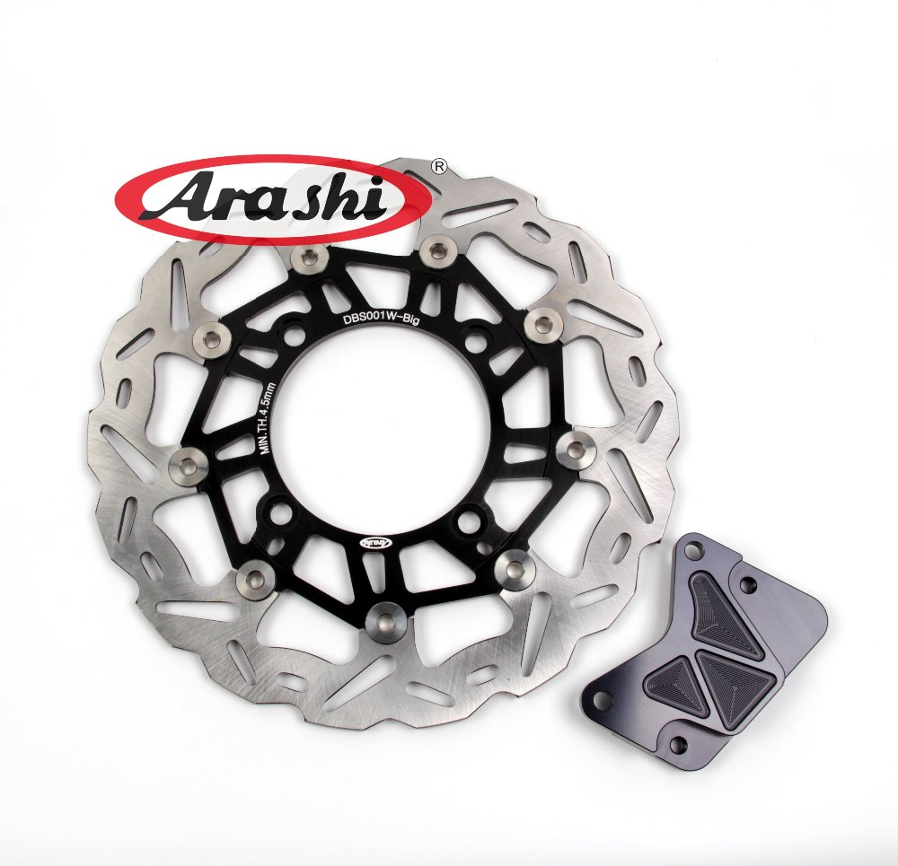 Arashi 1PCS For HONDA FORZA 250 2000 2001 2002 2003 2004 2005 2006 2007 CNC Parts Floating Front Brake Disc Rotors Pow BracketArashi 1PCS For HONDA FORZA 250 2000 2001 2002 2003 2004 2005 2006 2007 CNC Parts Floating Front Brake Disc Rotors Pow Bracket