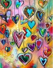 Сделай Сам 5d алмазная картина сердце любовь полностью квадратная