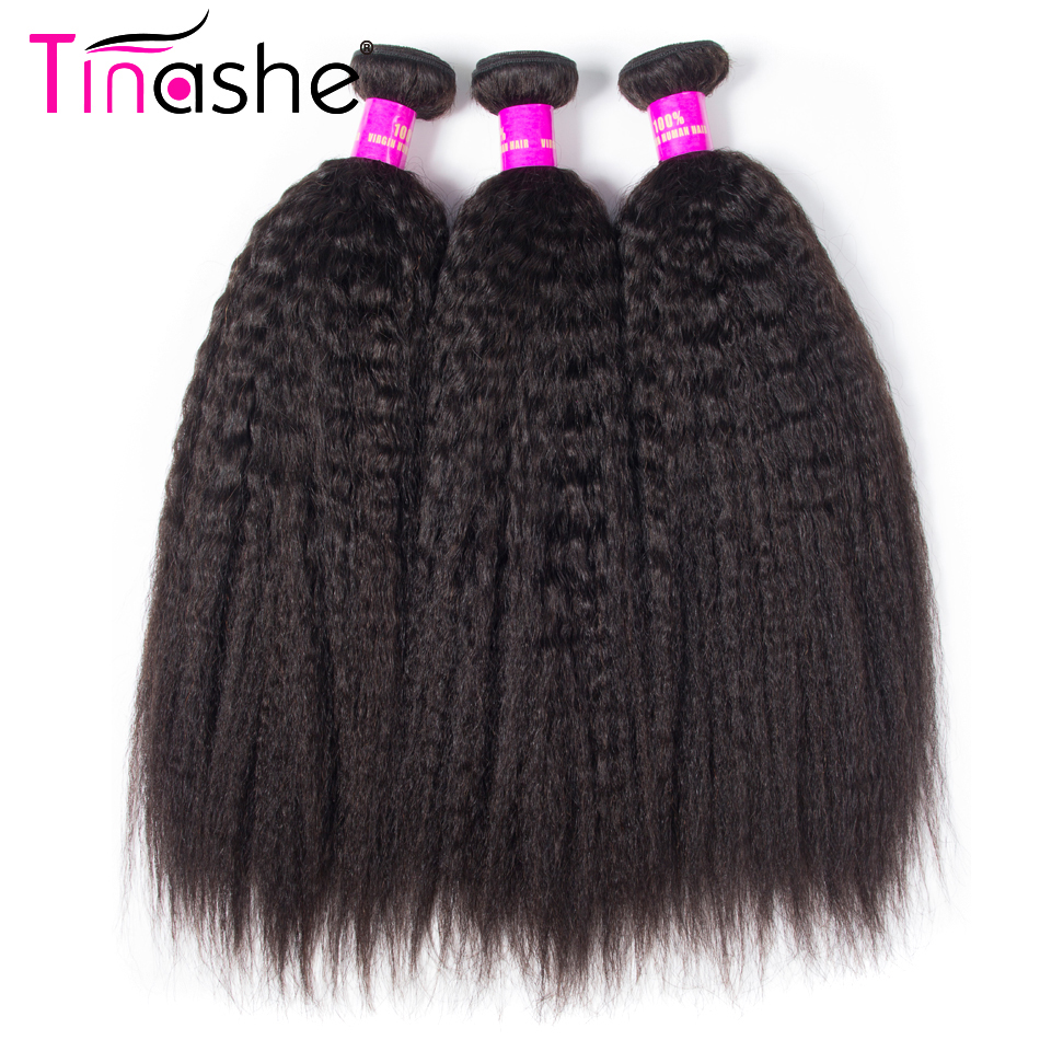 Straight perm damage - Tinashe Kinky Straight Hair Natural Color Brazilian Hair Weave Bundles 100 Remy Yaki Human Hair Extensions 10 28 Inches
