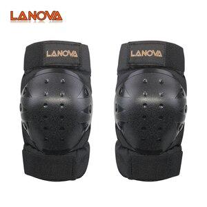 LANOVA 6 шт./компл. набор защитных принадлежностей наколенники налокотники Защита запястья защита для скутера Велоспорт Катание на роликах