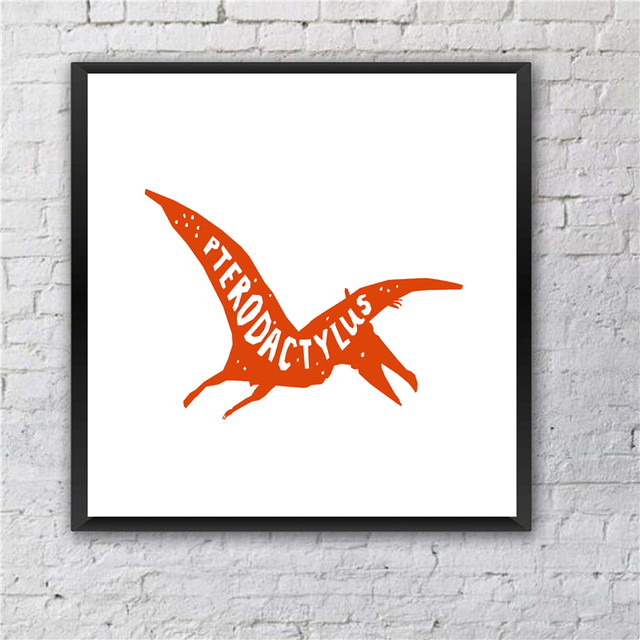 Dinosaur Canvas Print Wall Decor