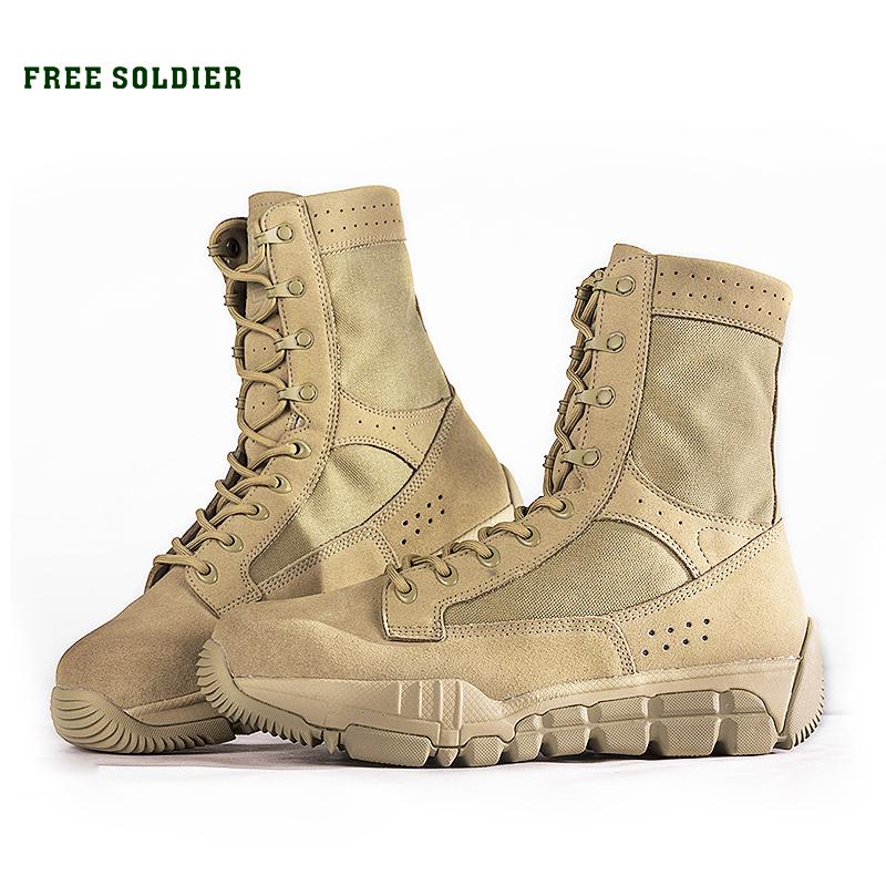Prix pour SOLDAT GRATUIT en plein air tactique résistant à l'usure respirant randonnée camping chaussures, moyenne hauteur cheville bottes