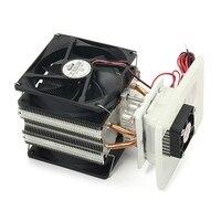12V 6.5A Elektronische Semiconductor Kühler Kühlschrank Kühlen Kühlsystem DIY EU stecker-in Laptop-Kühlkissen aus Computer und Büro bei