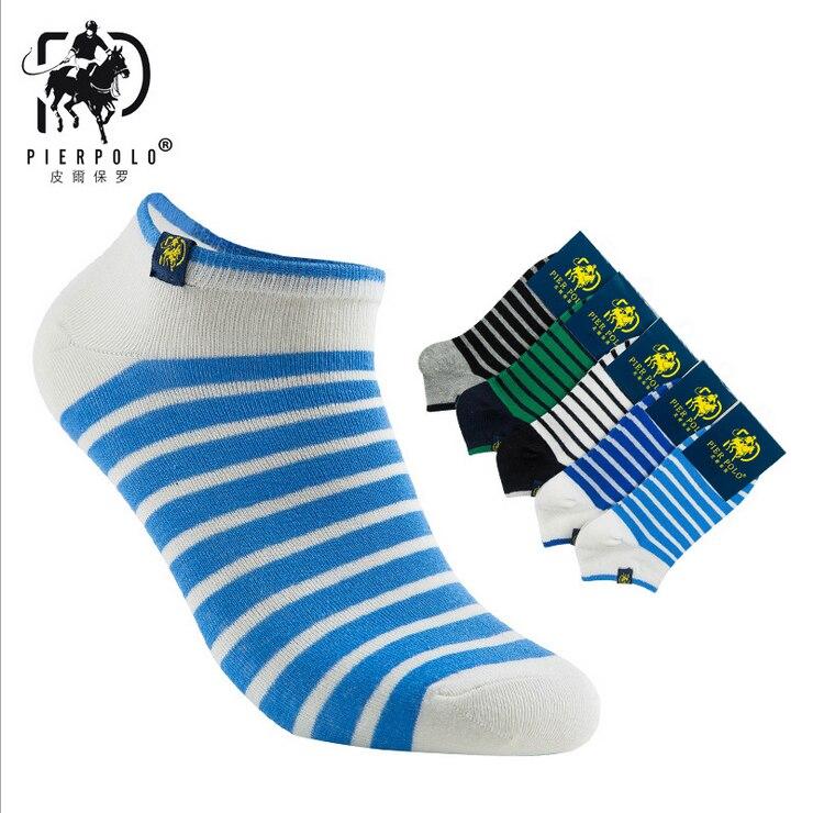 Летние мужские Носки чулки полосатые ветер Pier поло детские носки чулки Повседневная коттоновые носки