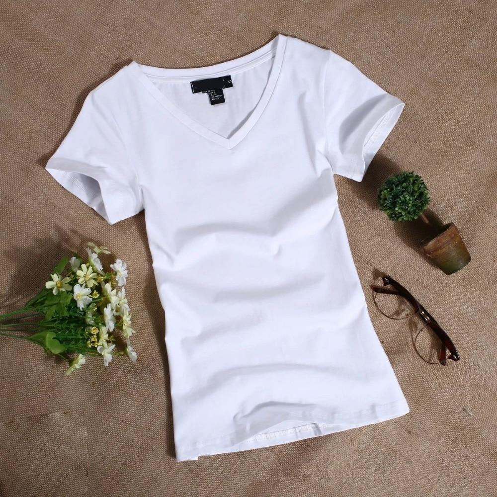 MRMT 2020 Women's T Shirt Women Short Sleeved Slim Solid Color Womens Simple Tee T-Shirt For Female Tshirt